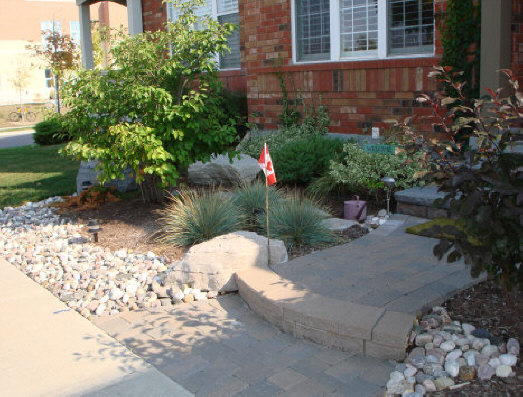 Elizabeth jurecki garden and landscape design services for Small no maintenance garden
